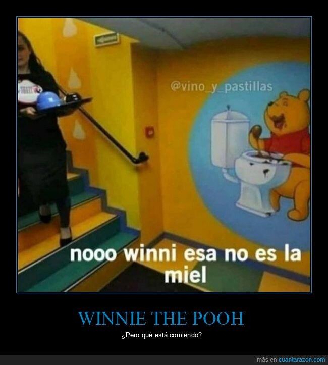 miel,váter,winnie the pooh,wtf