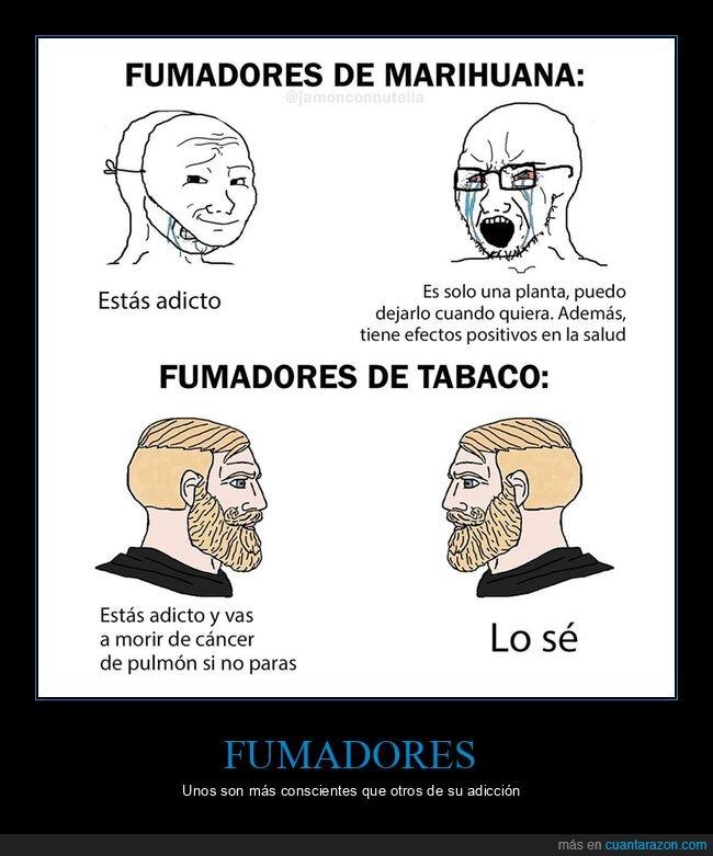 fumadores,marihuana,tabaco