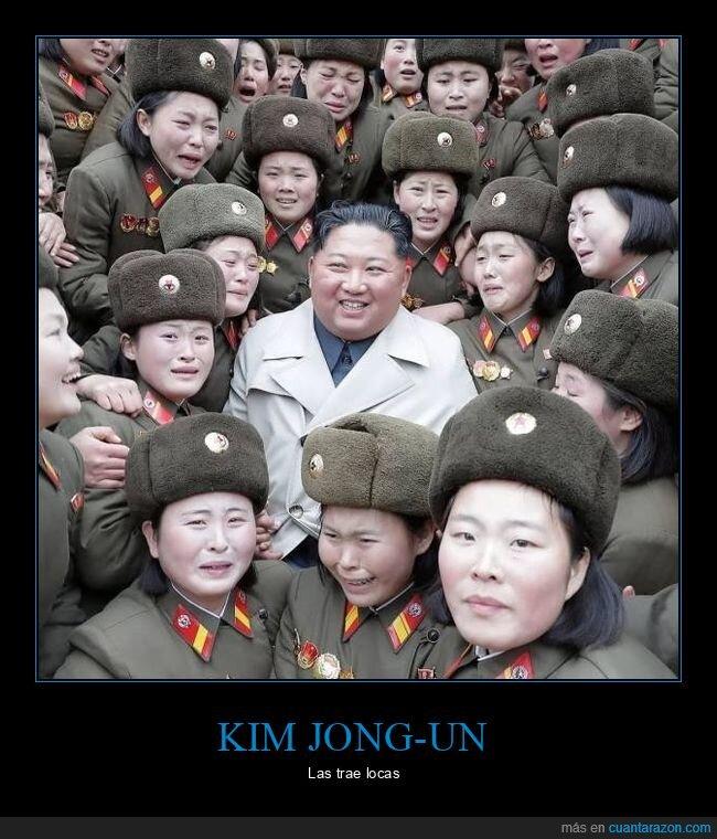 kim jong un,mujeres