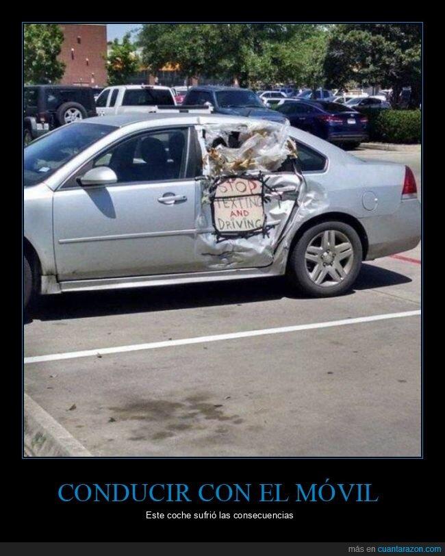 carteles,coche,conducir,móvil