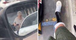 Enlace a Este hombre con una sola pierna es cuestionado por aparcar en un lugar para discapacitados, así que se enfrenta a la 'Karen'