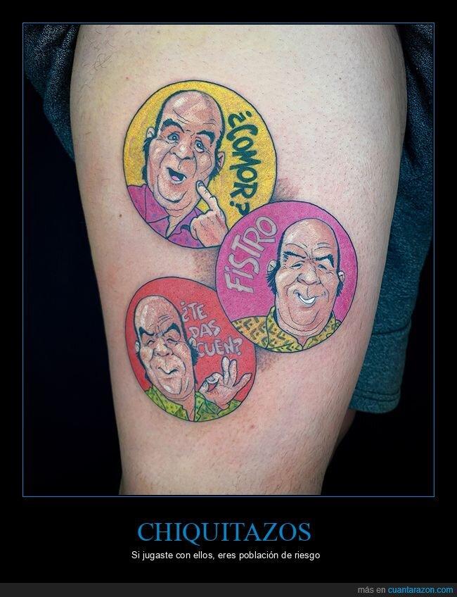 chiquitazos,tatuaje