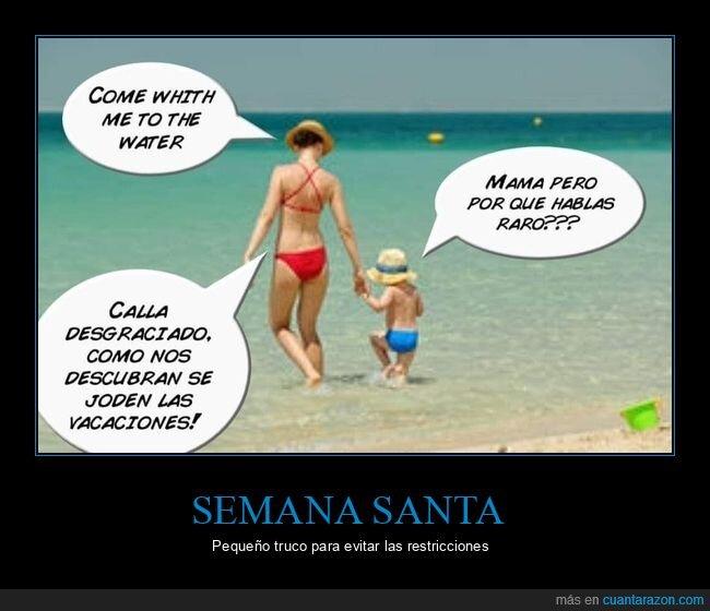 extranjeros,hijo,inglés,madre,restricciones
