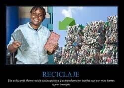 Enlace a Dando un nuevo uso a los residuos plásticos
