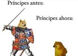 Enlace a Los príncipes ya no son lo que eran