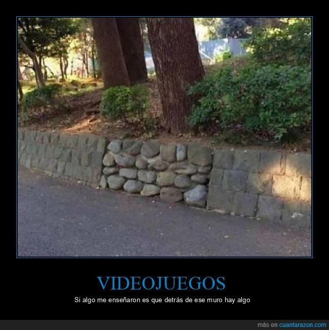 muro,videojuegos