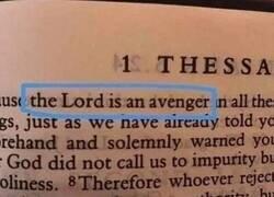 Enlace a El Señor es un Vengador