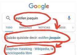 Enlace a Gracias, Google