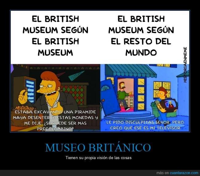 museo británico,simpsons