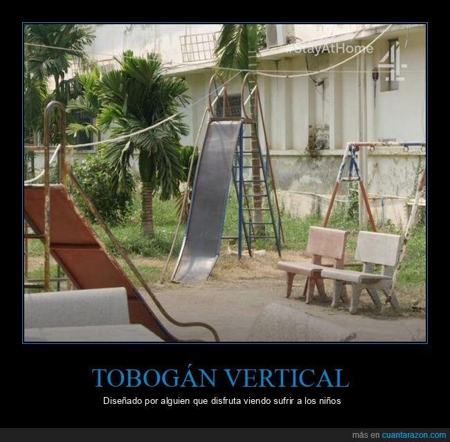 tobogán,vertical,wtf