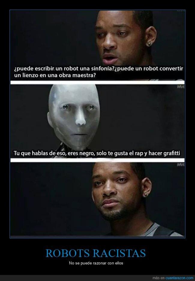 blanco,negros,yo robot
