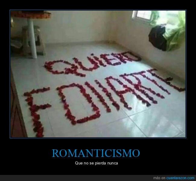 pétalos,romanticismo