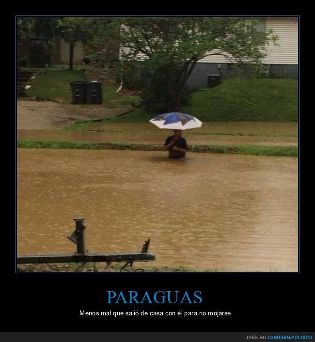 inundación,paraguas,wtf