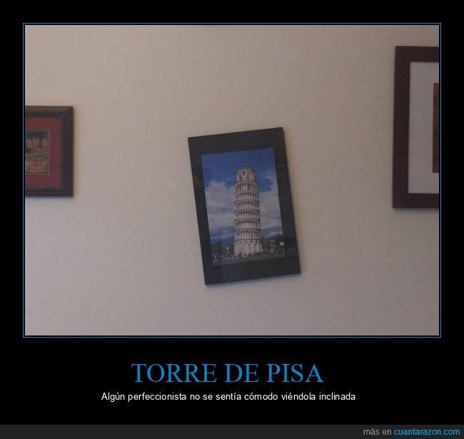 cuadro,torre de pisa