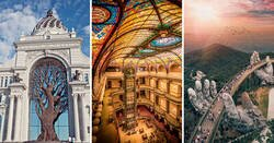 Enlace a Bellezas arquitectónicas impresionantes alrededor del mundo