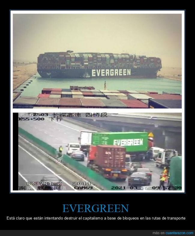 barco,camión,canal de suez,evergreen,fails,wtf