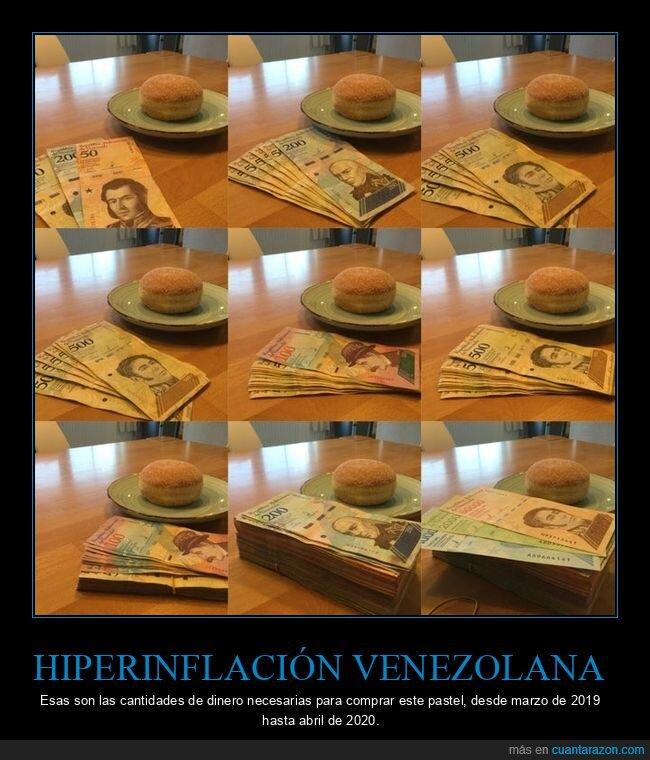 dinero,inflación,venezuela