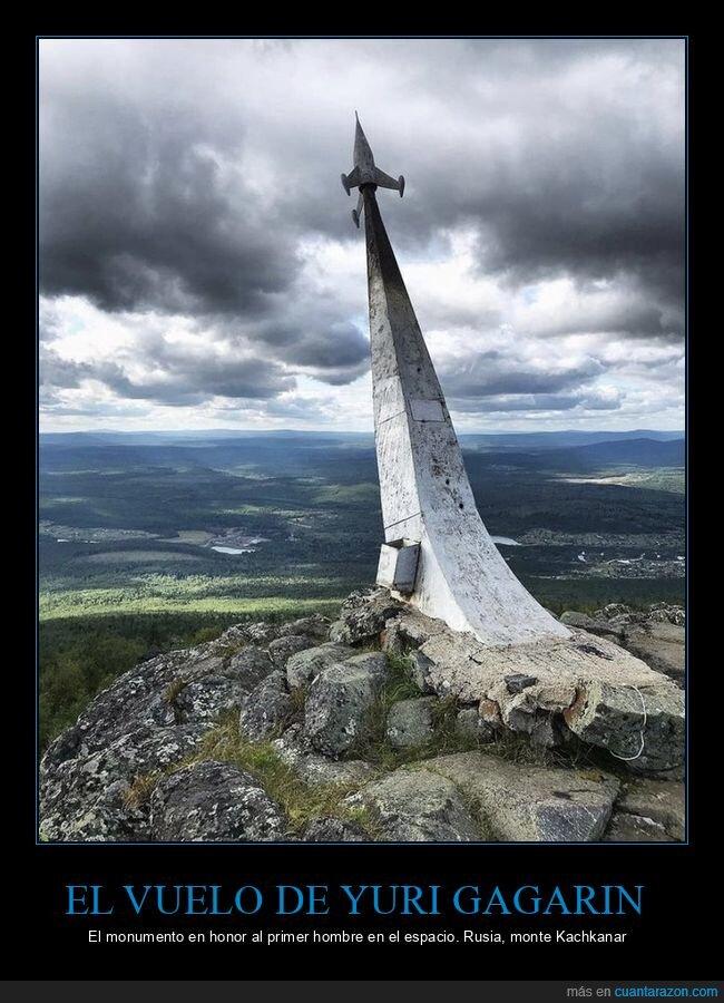 espacio,monumento,rusia,yuri gagarin