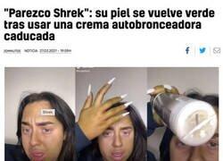 Enlace a Cosplay involuntario de Shrek