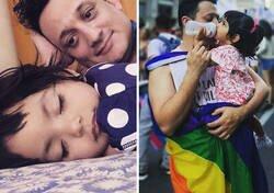 Enlace a Esta niña llevaba un año viviendo en el hospital, y ha sido adoptada por un hombre que siempre quiso ser padre