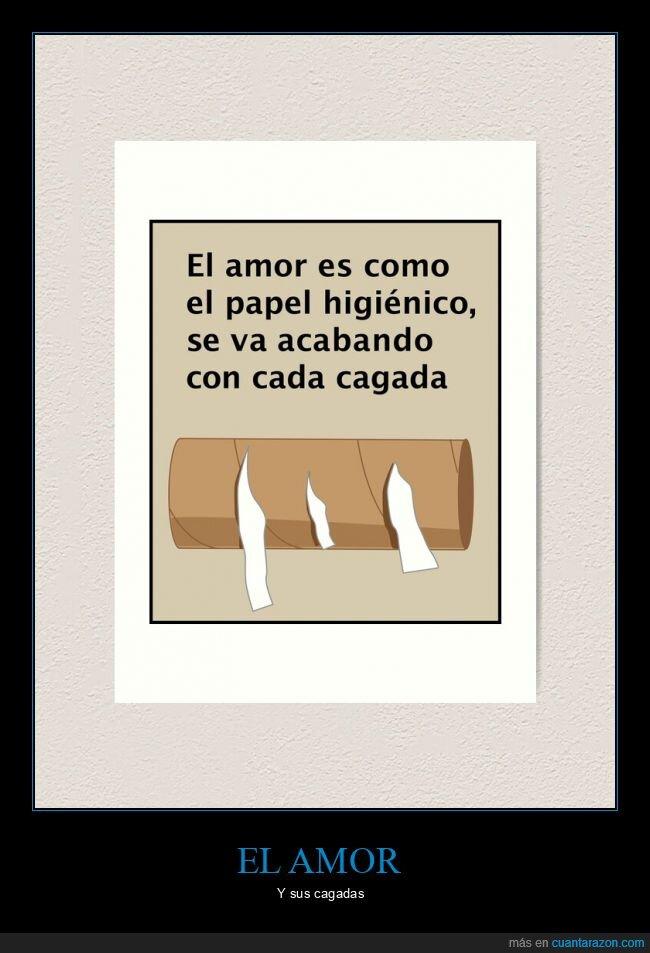 amor,papel higiénico