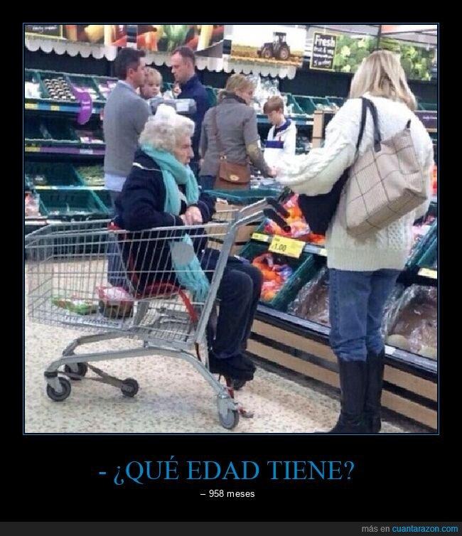 abuela,carrito,supermercado,wtf