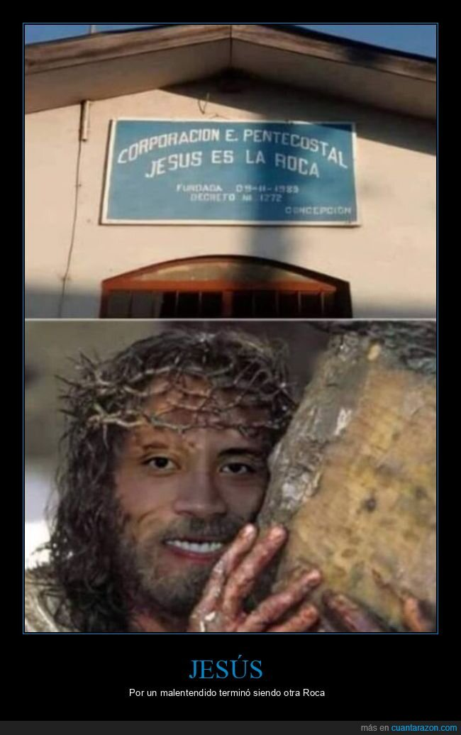 jesús,la roca,the rock