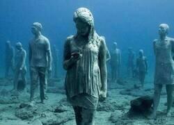 Enlace a Esculturas submarinas