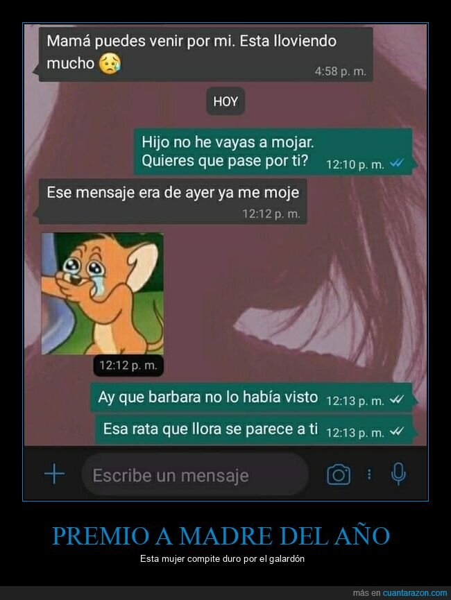 madre,padres del año,whatsapp