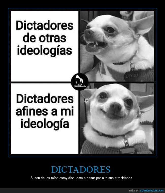 dictadores,ideologías
