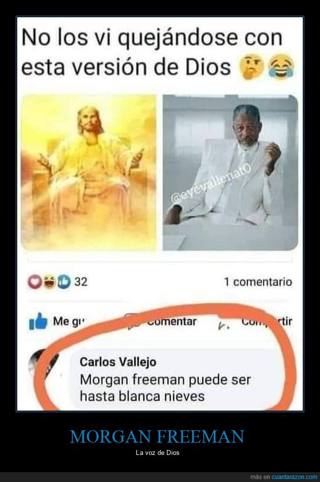 dios,morgan freeman