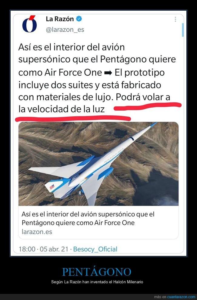 air force one,avión,fails,velocidad de la luz,wtf
