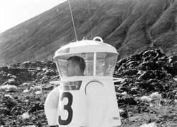 Enlace a Primeros prototipos de traje espacial