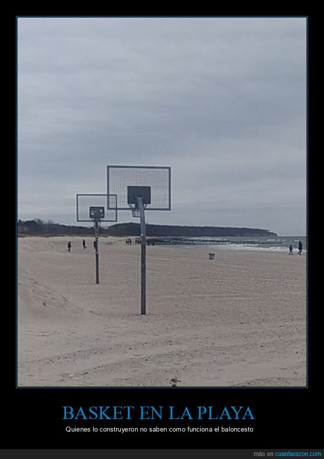baloncesto,canastas,fails,playa