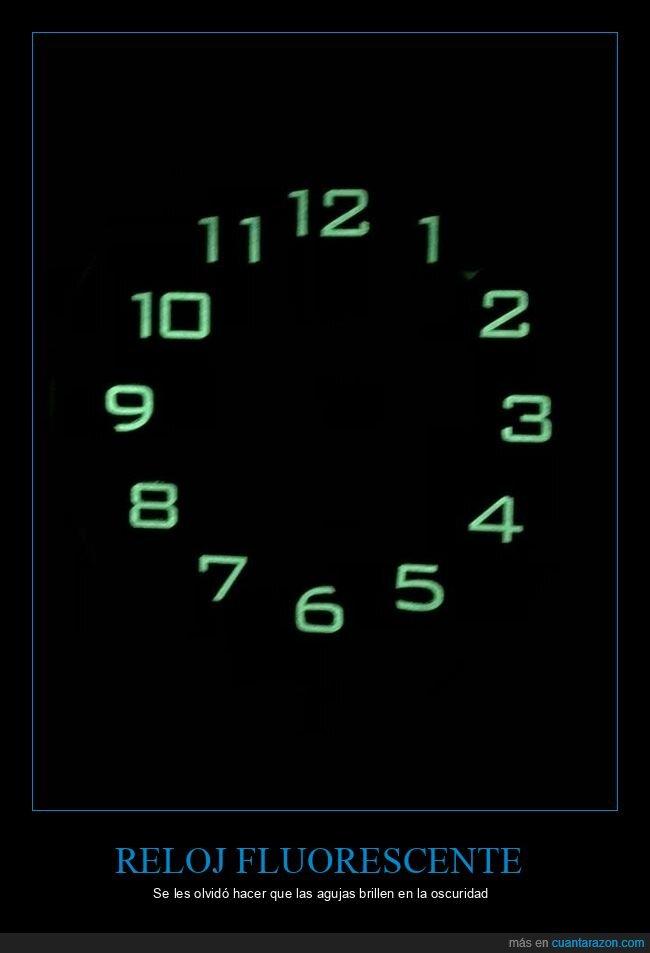 agujas,fails,oscuridad,reloj