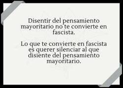 Enlace a Lo que realmente te convierte en fascista