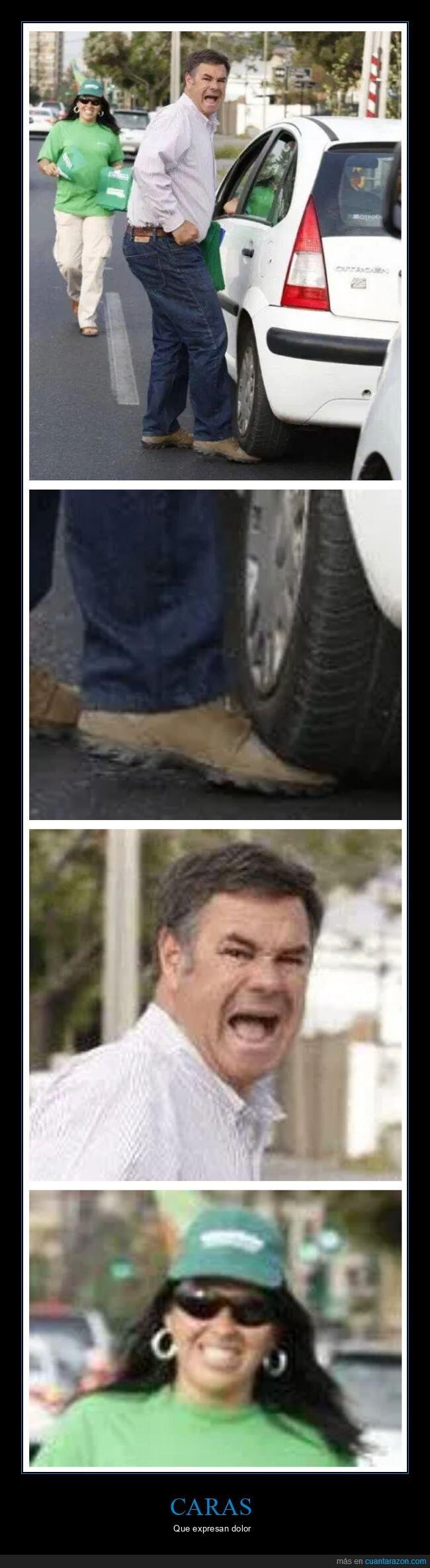 coches,fails,pie,rueda