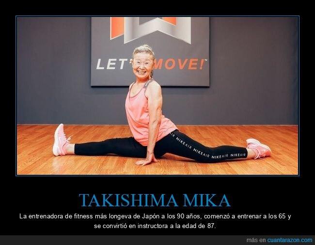 abuela,fitness,takishima mika