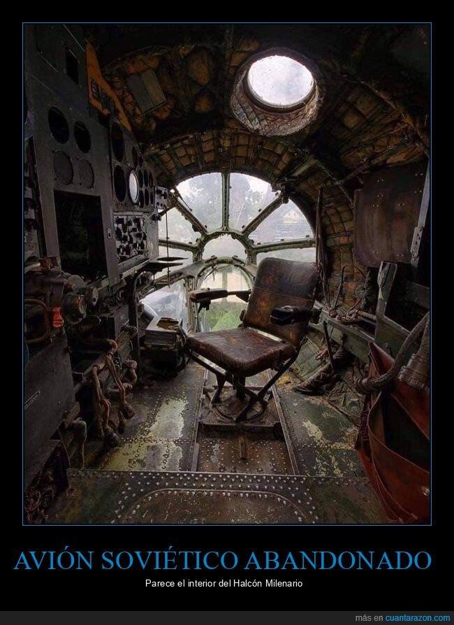 avión,halcón milenario,parecidos