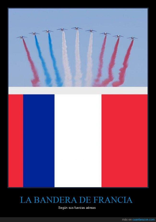 aviones,bandera,colores,francia