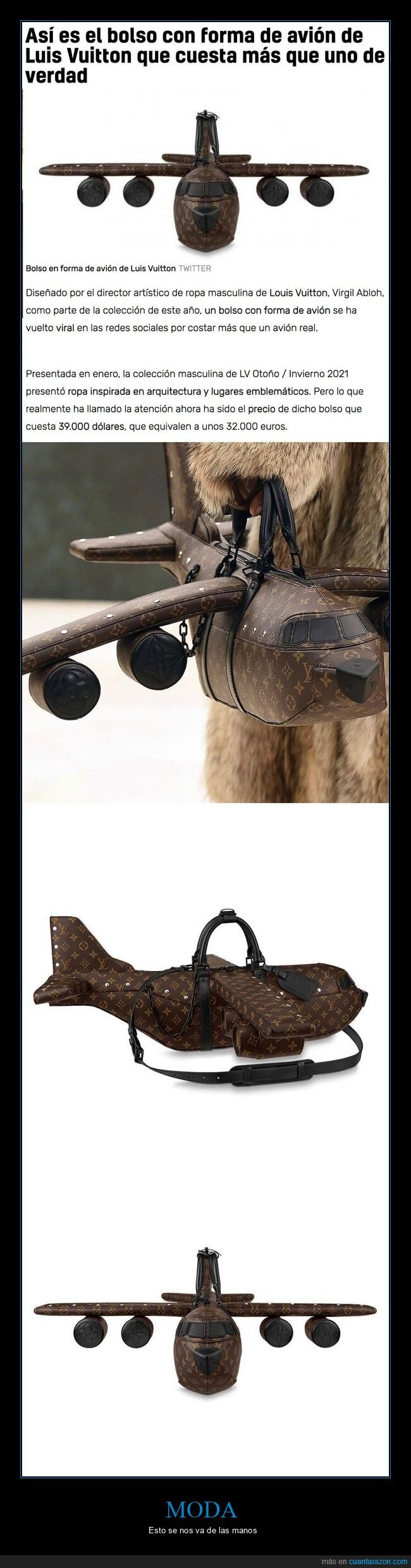 avión,bolso,louis vuitton