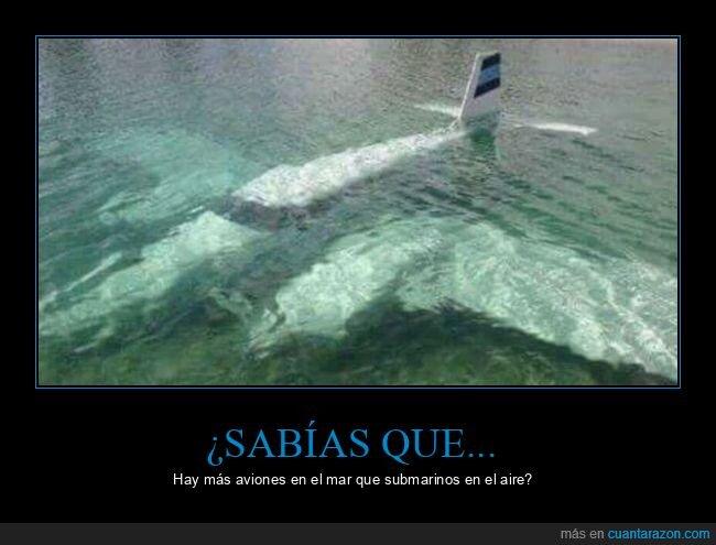 agua,aviones,hundidos,mar,submarinos
