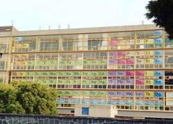 Enlace a Un edificio con mucha química