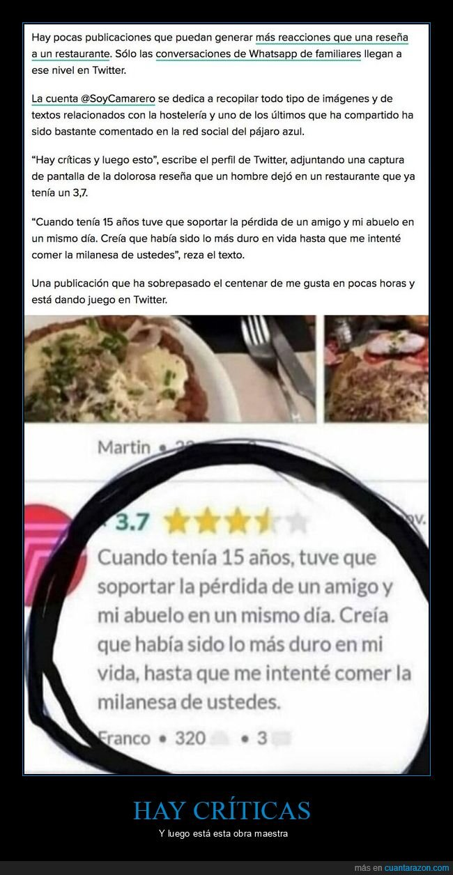comida,milanesa,restaurante,review
