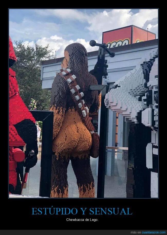 Chewbacca,culo,Estúpido,lego,sensual