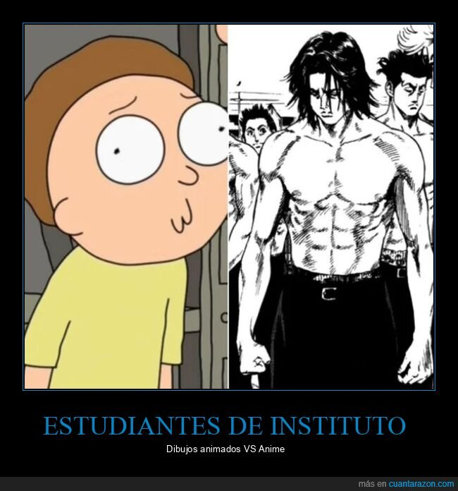 anime,cachas,instituto,mazados