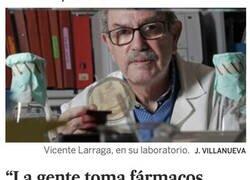 Enlace a Vicente Larraga, qué grande
