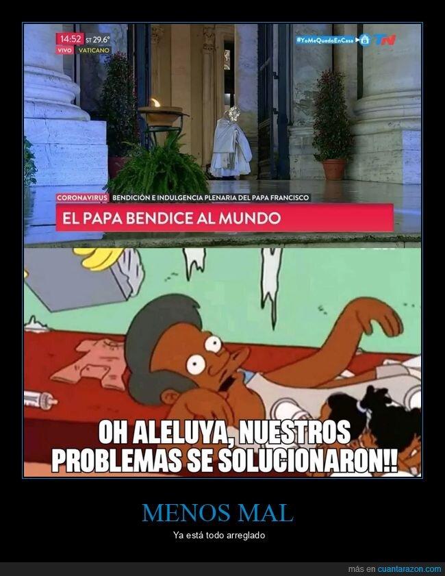 mundo,papa,problemas