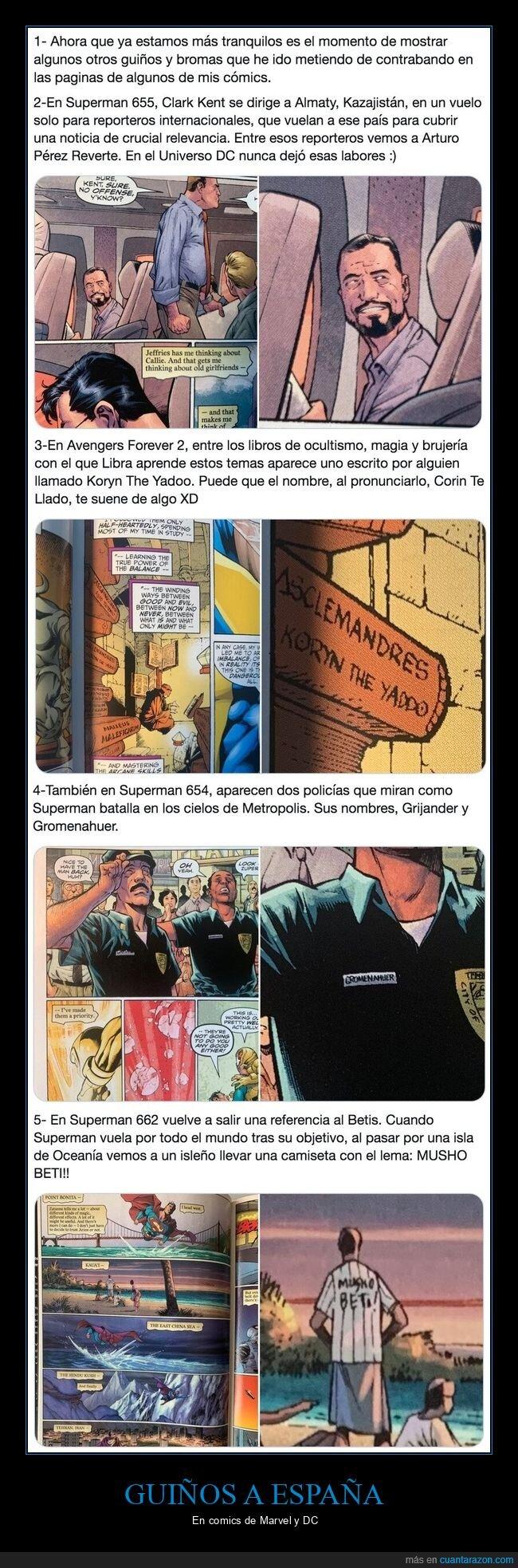 Betis,Chiquito,comics,dc,españa,marvel,Reverte