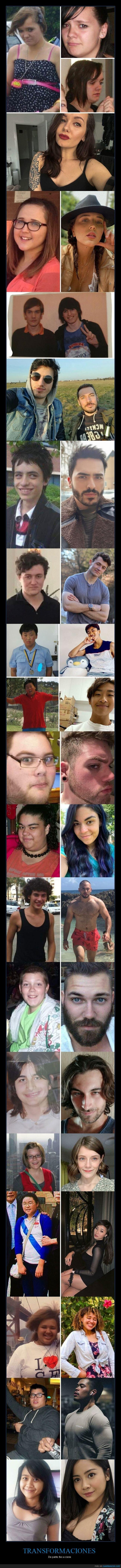 feos,guapos,transformación